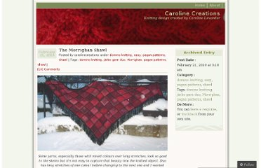 http://carolinecreations.wordpress.com/2010/02/21/the-morrighan-shawl/