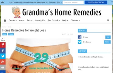 http://www.grandmashomeremedies.com/weight-loss.html