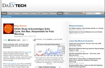 http://www.dailytech.com/NASA+Study+Acknowledges+Solar+Cycle+Not+Man+Responsible+for+Past+Warming/article15310.htm