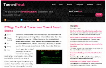 http://torrentfreak.com/btdigg-the-first-trackerless-torrent-search-engine-110223/