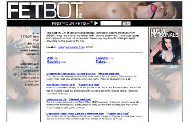 http://www.fetbot.com/Links/Membership_Sites/BDSM/