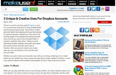 http://www.makeuseof.com/tag/3-unique-creative-dropbox-accounts/