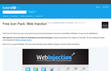 http://www.tutorial9.net/downloads/free-icon-pack-web-injection/