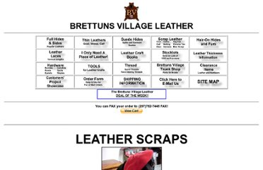 http://www.brettunsvillage.com/leather/scrap/scraps.htm