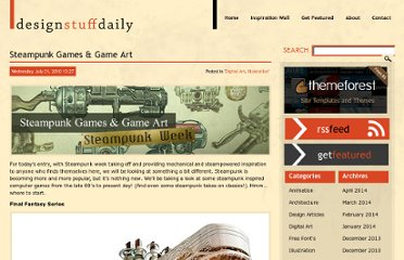 http://www.designstuffdaily.com/digital-art/steampunk-games-game-art/