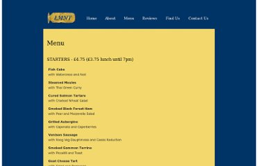 http://www.lmnt.co.uk/menu.php