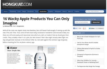 http://www.hongkiat.com/blog/wacky-apple-products/