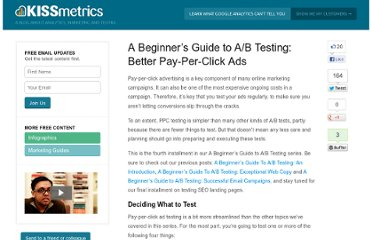 http://blog.kissmetrics.com/beginners-guide-ab-testing-ppc/