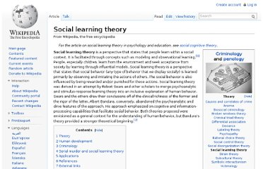 http://en.wikipedia.org/wiki/Social_learning_theory