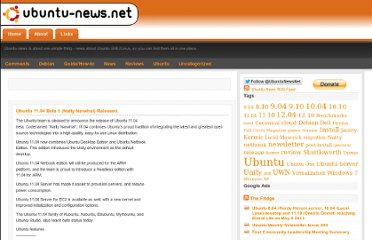 http://www.ubuntu-news.net/2011/04/01/ubuntu-11-04-beta-1-natty-narwhal-released/#comments