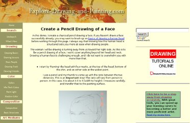 http://www.explore-drawing-and-painting.com/Pencil-drawing-face.html