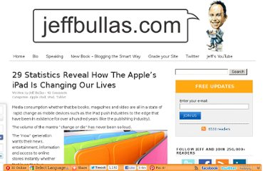 http://www.jeffbullas.com/2011/04/04/29-statistics-reveal-how-the-apples-ipad-is-changing-our-lives/