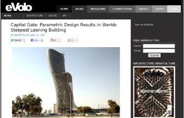 http://www.evolo.us/architecture/capital-gate-parametric-design-results-in-worlds-steepest-leaning-building/