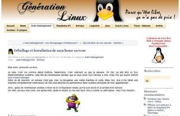 http://www.generation-linux.fr/index.php?post/2010/12/13/Deballage-et-installation-de-mon-home-serveur