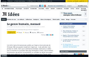 http://www.lemonde.fr/idees/article/2011/04/02/le-genre-humain-menace_1502134_3232.html