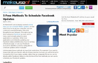 http://www.makeuseof.com/tag/5-free-methods-schedule-facebook-updates/