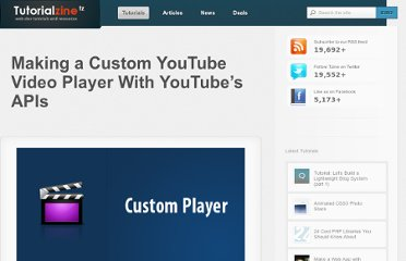 http://tutorialzine.com/2010/07/youtube-api-custom-player-jquery-css/