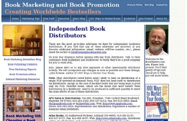 http://www.bookmarket.com/distributors.htm