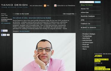 http://www.yankodesign.com/2011/04/04/not-afraid-of-color-interview-with-karim-rashid/