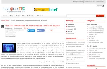http://www.educacontic.es/blog/top-ten-herramientas-2-0-imprescindibles-en-clase-de-lenguas