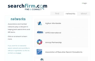 http://www.searchfirm.com/associations/associations.asp