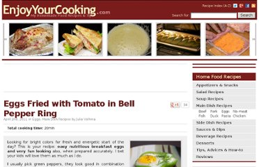http://www.enjoyyourcooking.com/main-dish-recipes/fried-eggs-tomato-bellpepper-ring.html