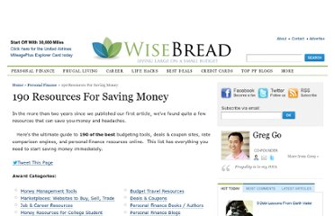 http://www.wisebread.com/resources