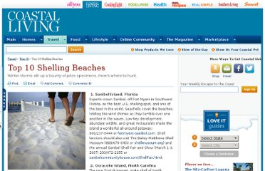 http://www.coastalliving.com/travel/top-10/top-10-shelling-beaches-00400000000216/
