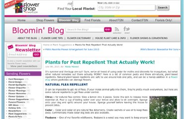 http://www.flowershopnetwork.com/blog/plant-pest-repellent/