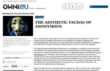 http://owni.eu/2010/12/20/the-aesthetic-faces-of-anonymous/