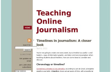 http://mindymcadams.com/tojou/2011/timelines-in-journalism-a-closer-look/