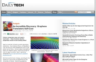 http://www.dailytech.com/An+Incredible+Discovery+Graphene+Transistors+SelfCool/article21285.htm