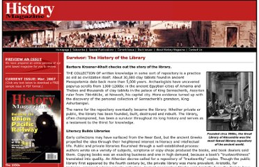 http://www.history-magazine.com/libraries.html
