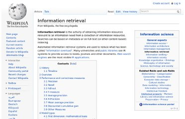 http://en.wikipedia.org/wiki/Information_retrieval