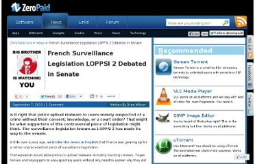 http://www.zeropaid.com/news/90585/french-surveillance-legislation-loppsi-2-debated-in-senate/