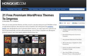 http://www.hongkiat.com/blog/21-free-premium-wordpress-themes-to-impress/