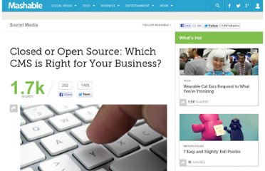 http://mashable.com/2011/04/05/best-cms-for-business/