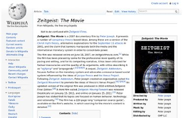 http://en.wikipedia.org/wiki/Zeitgeist:_The_Movie