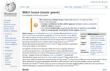 http://en.wikipedia.org/wiki/Witch_house_(music_genre)