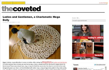 http://the-coveted.com/blog/2009/12/10/mega-doily/