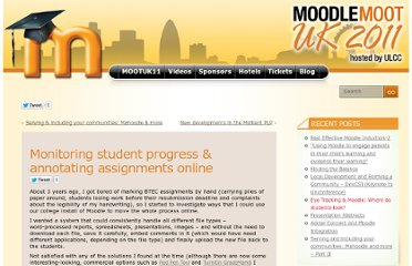 http://mootuk11.org.uk/2011/04/05/monitoring-student-progress-annotating-assignments-online/