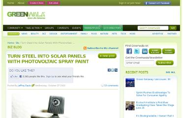 http://www.greenwala.com/channels/green-business/blog/11174-Turn-Steel-Into-Solar-Panels-With-Photovoltaic-Spray-Paint