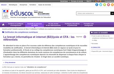 http://eduscol.education.fr/cid46073/b2i.html
