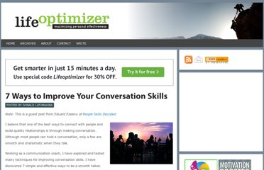 http://www.lifeoptimizer.org/2011/04/01/improve-conversation-skills/