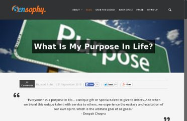 http://www.sensophy.com/what-is-my-purpose-in-life/
