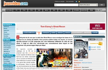 http://www.jeuxvideo.com/articles/0001/00013857-tom-clancy-s-ghost-recon-test.htm
