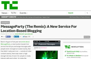 http://techcrunch.com/2011/04/06/messageparty-the-remix-a-new-service-for-location-based-blogging/