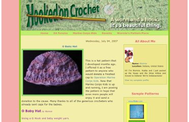 http://hooked-on-crochet.blogspot.com/2007/07/o-baby-hat.html
