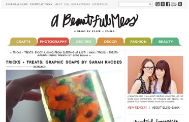 http://abeautifulmess.typepad.com/my_weblog/2010/10/tricks-treats-graphic-soaps-by-sarah-rhodes.html
