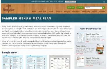 http://www.paleoplan.com/resources/sampler-menu-meal-plan/